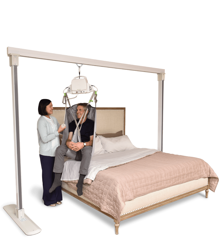 Silver Cross ceiling lift and bed